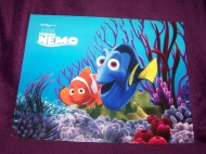 Disney Pixar Finding Nemo Exclusive Four Lithograph Set in Folder