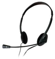 NGS MS104 - Auriculares con micrófono , color: negro