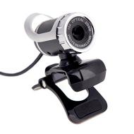 Andoer® USB 2.0 12 Megapixel HD Camera Web Cam 360 Degree with MIC Clip-on for Desktop Skype Computer PC Laptop