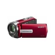Sony - DCRSX65ER - Caméscope à carte mémoire - 0,8 Mpix - Zoom Optique 60x - 4 Go - Rouge