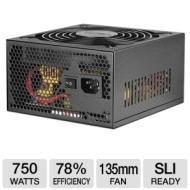 Ultra LSP750 750-Watt Power Supply - ATX, SATA-Ready, SLI-Ready, 135mm Fan, Lifetime Warranty w/ Registration