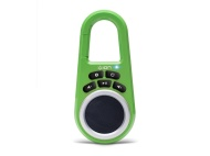 ION Clipster Ultra-Portable Bluetooth Speaker with Built-In Clip (Green)