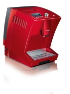 Severin S2+ One Touch Automatic Bean to Cup Coffee Machine, Red