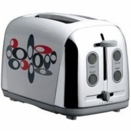 Prestige Hoops Art Deco 2 Slice Toaster
