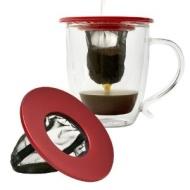 Primula Coffee Brew Buddy Single Cup Coffee Maker, Red
