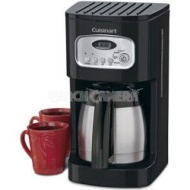 Cuisinart Brew Central 10-Cup Programmable Thermal Coffeemaker (Black)
