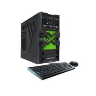 CybertronPC 3.50GHz 8GB DDR3 Borg-DS9 AMD FX-6300 Six-Core Desktop PC Green w/ Nvidia GeForce GT 730