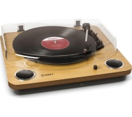 ION Max LP Turntable - Wood