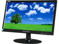 "Sceptre 20"" LED Monitor (E205W-1600 Black)"