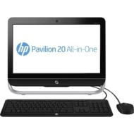 "HP Refurbished Pavillion E1-1200 All-in-One Desktop PC with AMD E1-2100 Accelerated Processor, 4GB Memory, 20"" Display, 1TB Hard Drive and Windows 8"