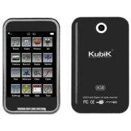 "Kubik Edge 8GB 2.8"" Touch Screen MP3 & Video Player with Built-in Camera & YouTube Player"
