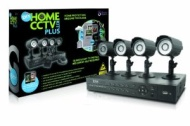 Storage Options 53882 DIY Home CCTV Plus Kit with DVR and 4 Weatherproof Cameras with Night Vision