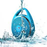 Whitelabel Wireless Portable Shower Speaker with Bluetooth V3.0 Special Waterproof design and Handsfree Mic for Apple iphone/ ipad/ ipod /Sumsang gala