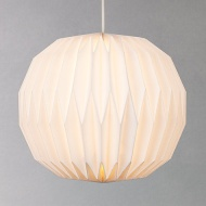 House by John Lewis Issie Easy-to-Fit Ceiling Shade, White