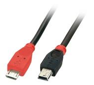 Lindy USB Micro-B - USB Mini-B, 0.5m