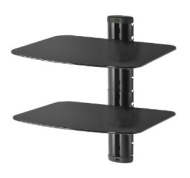 Peerless Dual AV Wall Shelf with Glass ESHV30-S1 - mounting kit