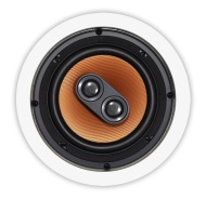 OSD Audio ICE640TT 6.5-inch 150-Watt Polypropylene Dual Voice Coil In-Ceiling Stereo Speaker, Single