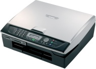 Brother MFC 215C - Multifunction ( fax / copier / printer / scanner ) - colour - ink-jet - copying (up to): 17 ppm (mono) / 11 ppm (colour) - printing