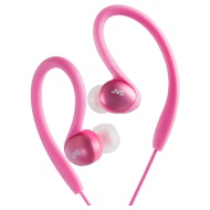 JVC HAEBX5R Splash Proof Sports Headphone - Red
