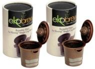 Ekobrew Cup Brown - 2 PACK - Refillable K-Cup For Keurig K-Cup Brewers