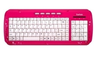 Saitek Expressions Keyboard Pink Butterfly