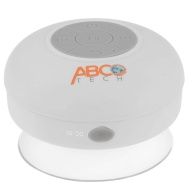 Abco Tech Waterproof Wireless Bluetooth Shower Speaker & Handsfree speakerphone - - Compatible with all Bluetooth Devices, iPhone 5 Siri and All Andro