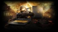 "Asus TUF FX705 17.3"" Gaming Laptop Includes TUF Backpack - Gun Metal"