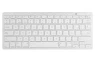 Aukey® Tastiera Bluetooth 3.0 Wireless universale, Layout Italiano QWERTY, Ultra-sottile Keyboard per Apple iPhone, iPad e Mac. (KM-B1 Bianco)