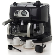 De-Longhi Combo Coffee Station with Cappuccino and Espresso Maker Functions