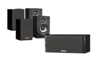 Energy Take Classic 5 Pack 5.0 Home Theater Speaker (Black)