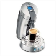 Senseo HD7832 Supreme Single-Serve Gourmet Coffeemaker - Silver and LCD Display