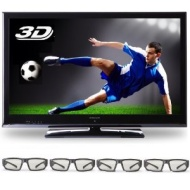 Finlux 42F701 LCD 3D TV, 42-inch, HD 1080p, SRS Surround & Built-in PVR & Freeview