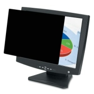 FEL4800301  Fellowes LaptopFlat Panel Privacy Filter  170 Black