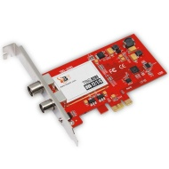TBS6281 Scheda PCIe ricevitore TV DVB-T2/T Dual Tuner,TBS6281 Scheda PCIe ricevitore TV DVB-T2/T Dual Tuner, updated version of TBS6280.