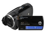 HP - V5061u 1080p Digital Camcorder with 3-Inch Touchscreen LCD (Black)
