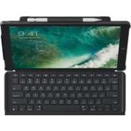 Logitech SLIM COMBO Smart Connector QWERTY UK English Black mobile device keyboard