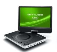 Muse draagbare DVD speler met 9 inch scherm M 970 DPW