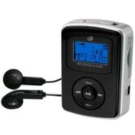 GPX 1GB Digital Audio Player - Silver (MW238)