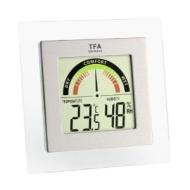 TFA Dostmann Digitales Thermo-Hygrometer mit Anzeige der Komfortzone TFA 30.5023