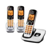 Uniden D1760-3 DECT 6.0 Cordless Phone w/ 2 Extra Handsets