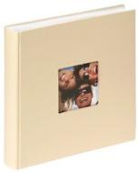 """Walther FA-208-L Buchalbum """"Fun"""" , Format 30 x 30 cm, 100 weißen Seiten, mit Bildausschnitt, blau"""
