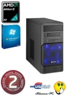 Ankermann PC Gamer EXTREME 599D3 PC desktop AMD 2270 Series (2x3.4GHz) NVIDIA GeForce GTX 650 2GB - 8GB DDR3 500GB HDD Capacity Card Reade