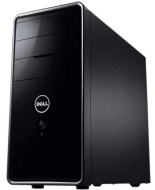 Dell Inspiron Desktop I620-1040BK - Intel Processor G630 2.7GHz 4GB DDR3 Memory 1TB Hard Drive CD/DVD Burner Windows 7 Professional Black