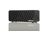 BeatBlock- Premium Bluetooth Wireless Speaker; Portable, Durable, Rechargeable, Powerful. With Bombproof Rubber Coating. (Black)