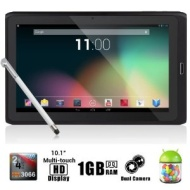 Dragon Touch® R10 10.1'' Google Android 4.1 Dual Core Tablet MID PC, Rockchip RK3066 Dual Core Cortex A9 CPU up to 1.6GHz, 1Gb RAM, 8Gb HDD, Multi-Tou