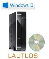 Mini-PC CSL Mini-ITX 5350 / Win 8.1 - AMD Athlon 5350 APU 4x 2050 MHz, 500GB SATA, 4096MB DDR3, Radeon HD 8400, GigLAN, 5.1 Sound, USB 3.0