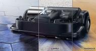 Samsung POWERbot WiFi Staubsauger-Roboter VR9300 mit extremer Saugleistung, 265 W