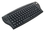 Point 2.4Ghz Wireless RF Media Centre Keyboard With Trackball Mouse