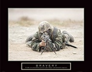 Sniper Motivational Poster Military Inspirational Art Print, 28x22 Art Poster Print, 28x22 Art Poster Print, 28x22