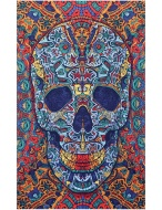 Sunshine Joy® 3D Skull Tapestry - 60X90 - Beach Sheet - Hanging Wall Art